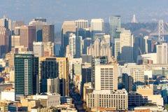 San Francisco Metropolis, construções do centro e arranha-céus imagem de stock royalty free