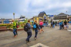 San Francisco 39 molo Zdjęcia Royalty Free