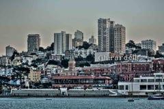 San Francisco Morning 2018 à l'usine de Cocos de Ghirardelli Photographie stock