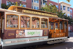 San Francisco Municipal Railway Streetcar Royalty Free Stock Photo