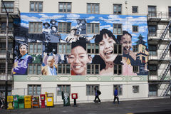San Francisco murals Stock Photo