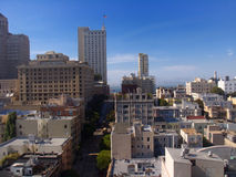 San francisco from my hotel Royalty Free Stock Images