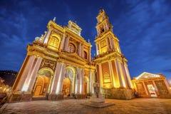 San Francisco na cidade de Salta, Argentina Fotos de Stock