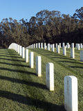 San Francisco National Cemetery Stock Afbeelding