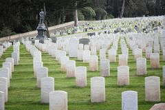 San Francisco National Cemetery Fotografie Stock