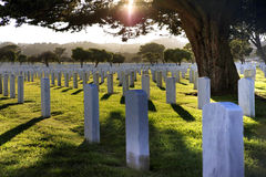 San Francisco National Cemetery Royalty Free Stock Image
