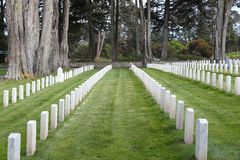 San Francisco National Cemetery Royalty Free Stock Photo