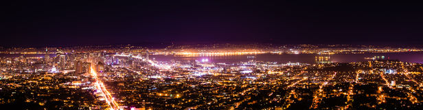 San Francisco natt Royaltyfria Bilder