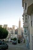 San Francisco Neighborhood Royalty Free Stock Photos