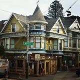 San Francisco. Nice house colors Royalty Free Stock Image