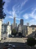 SAN FRANCISCO niebieskie niebo I linia horyzontu, zdjęcia royalty free