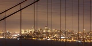 San Francisco at Night royalty free stock photography
