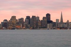 San Francisco at night Stock Photo
