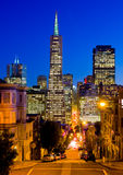 San Francisco at night Stock Photo
