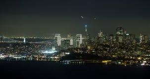 San Francisco Night Aerial View