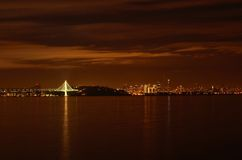 San Francisco At Night Stock Photography