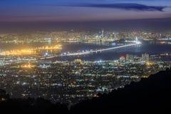 San Francisco Night Lights Stockfotografie