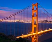 San Francisco at Night stock image