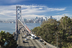 SAN FRANCISCO - NOVEMBER 2012: The Bay Bridge Royalty Free Stock Image