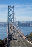 SAN FRANCISCO - The Bay Bridge Royalty Free Stock Photo