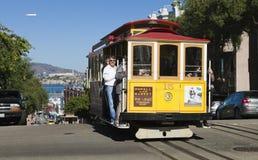 SAN FRANCISCO - NOVEMBER 3rd: The Cable car tram, November 3rd, Stock Photo