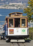 SAN FRANCISCO - o bonde do teleférico Foto de Stock Royalty Free
