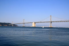 The San Francisco-Oakland Bay Bridge Stock Photo