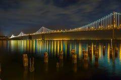 San Francisco - Oakland Bay Bridge Royalty Free Stock Image