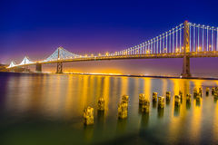 San Francisco Oakland Bay Bridge Royalty Free Stock Photography