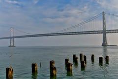 San Francisco - Oakland Bay Bridge Royalty Free Stock Images