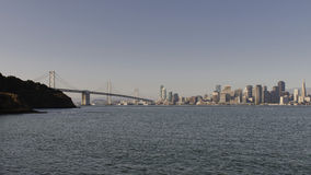 San Francisco Oakland Bay Bridge Royalty Free Stock Images