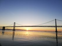 San Francisco – Oakland Bay Bridge royalty free stock images