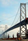The San Francisco-Oakland Bay Bridge Stock Images