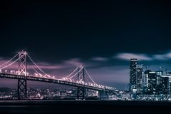 San Francisco Oakland Bridge Royalty Free Stock Image