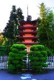 San francisco ogród japoński herbaty. obraz stock