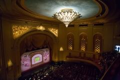 San Francisco opera - wśrodku filharmonii fotografia royalty free