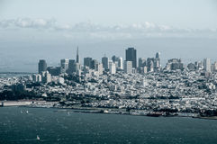 San Francisco Over Watch stock photography