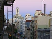 San Francisco på gryning Royaltyfri Bild