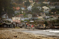 San Francisco. Pacifica State Beach Image stock