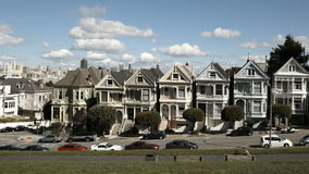 San Francisco Painted Ladies Timelapse Royalty Free Stock Photography