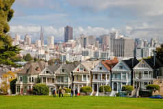 SAN FRANCISCO, Painted Ladies Stock Image
