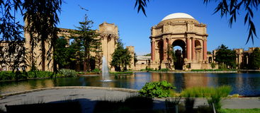 San Francisco Palace des beaux-arts image libre de droits
