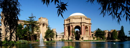 San Francisco Palace of Fine Arts Royalty Free Stock Image
