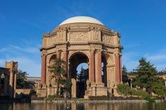 San Francisco Palace of Fine Arts. Palace of Fine Arts museum building and rotunda in San Francisco, California Royalty Free Stock Photos