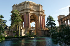 San Francisco Palace of Fine Arts. A view of the San Francisco Palace of Fine Arts Stock Image