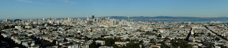 San Francisco panorâmico foto de stock