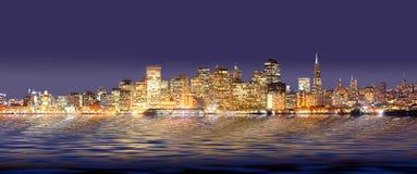 San Francisco - Panorama Royalty Free Stock Photos