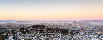 San Francisco Panorama, California, USA Stock Photo