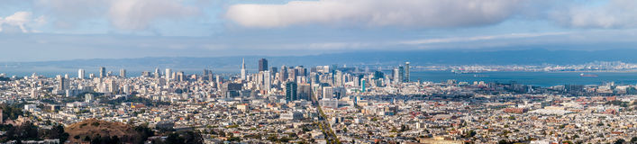 San Francisco panorama view Stock Photo