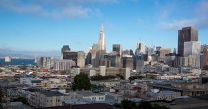 San Francisco Panoramic Skyline stock video footage